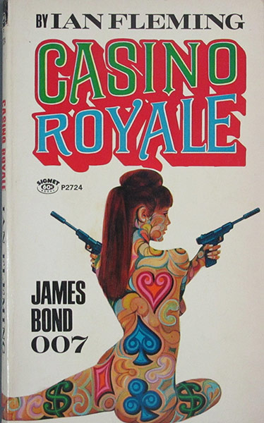 Casino Royale - Signet Books, 29th printing, Casino Royale 1967 movie cover