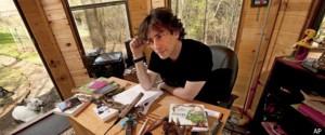 Neil Gaiman skrivplats